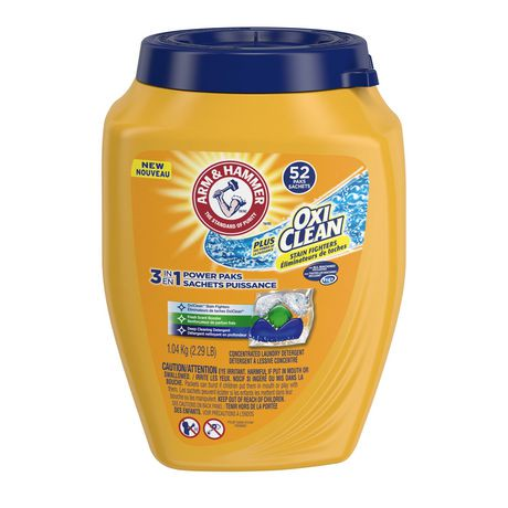 Arm Amp Hammer Plus Oxiclean Fresh Scent Concentrated