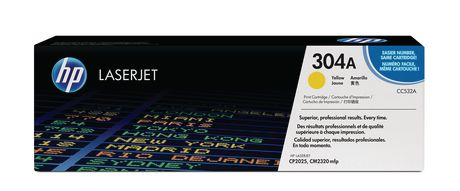 HP 304A (CC532A) Yellow Original LaserJet Toner Cartridge - image 1 of 1