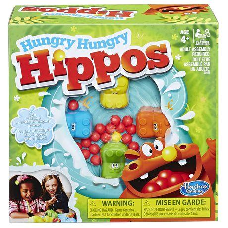 Hasbro Gaming Hungry Hungry Hippos - image 1 of 3