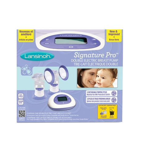 Lansinoh Signature Pro Double Electric Breast Pump - image 1 of 5
