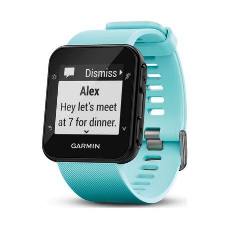 Garmin Forerunner® 35 GPS Running Smart Watch - Frost Blue