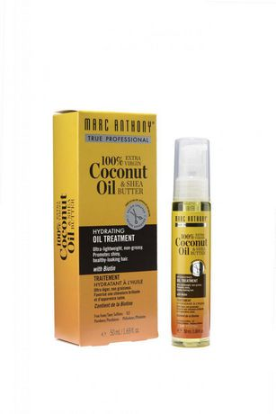 marc anthony hydrating coconut oil shea butter oil traitement 50 ml walmart canada. Black Bedroom Furniture Sets. Home Design Ideas