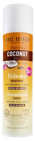 Marc Anthony Hydrating Coconut Oil & Shea Butter Volume Hairspray - image 1 of 2