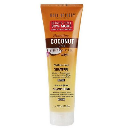 Marc Anthony Hydrating Coconut Oil and Shea Butter Sulfate Free Shampoo | Walmart Canada