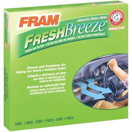 Filtre à air d'habitacle FCF8644A Fresh BreezeMD de FRAM(MD) - image 1 de 1