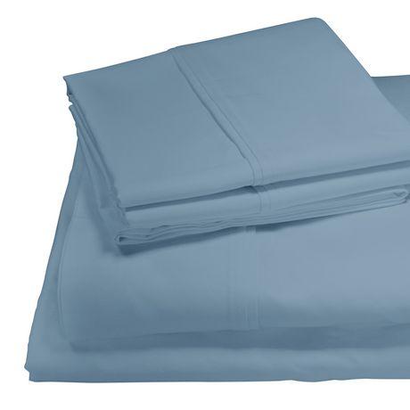 ensemble de draps gyptien en coton de 600 fils de springmaid. Black Bedroom Furniture Sets. Home Design Ideas
