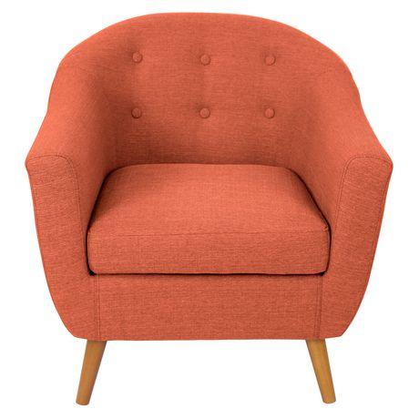 Lumisource Rockwell Chair Orange Walmart Canada