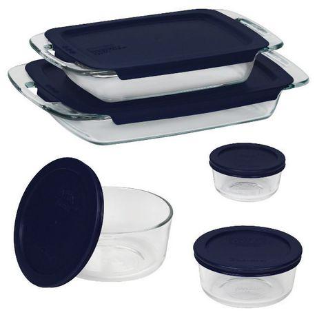 Pyrex® Easy Grab Bake & Store 10pc Set - image 1 of 1