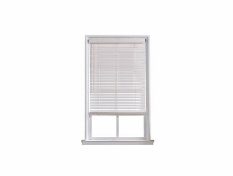Hometrends 2 Quot Cordless Fauxwood White Blind Walmart Canada