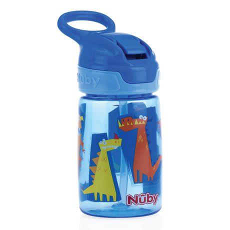 Nuby No-Spill Thirsty Kids Reflex Flip-It Cup - image 1 of 1