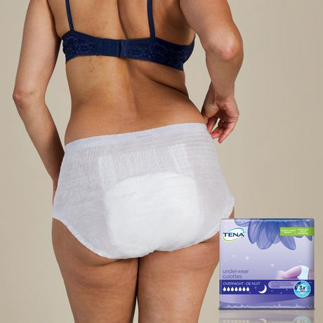 TENA Incontinence Underwear, Overnight Protection, Large, 11 Count - image 4 of 4