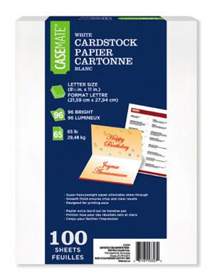 the office casemate white cardstock walmart canada