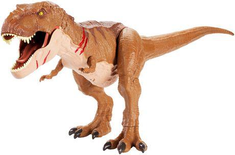 Jurassic World Battle Damage Roarin' Super Colossal Tyrannosaurus Rex Figure - image 9 of 9