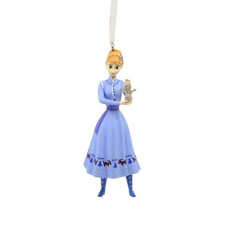 Hallmark Disney Olaf's Frozen Adventure Anna with Olaf Christmas ...