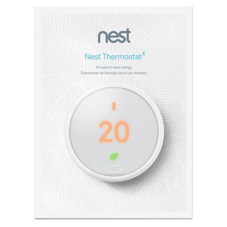 Google Nest Thermostat E Walmart Canada