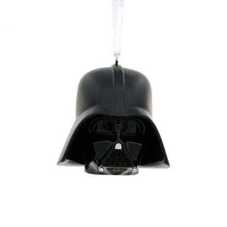 Hallmark Star Wars Darth Vader Helmet Christmas Tree Ornament ...