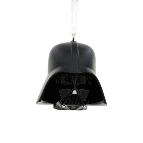 Hallmark Star Wars Darth Vader Helmet Christmas Tree Ornament