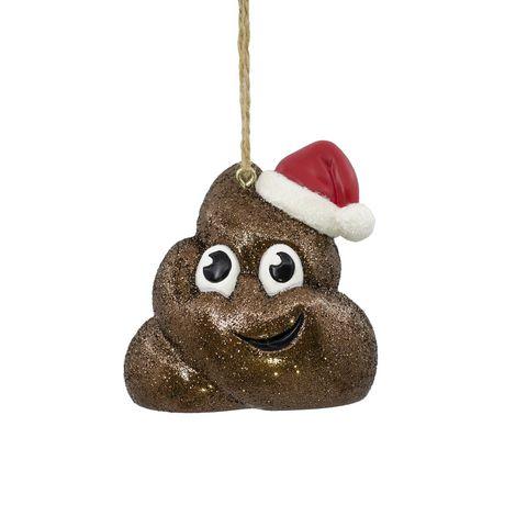 Hallmark Poop Emoji Christmas Tree Ornament | Walmart Canada
