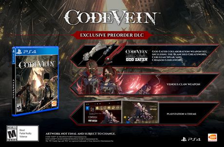 Code Vein (Playstation 4) - image 2 of 2