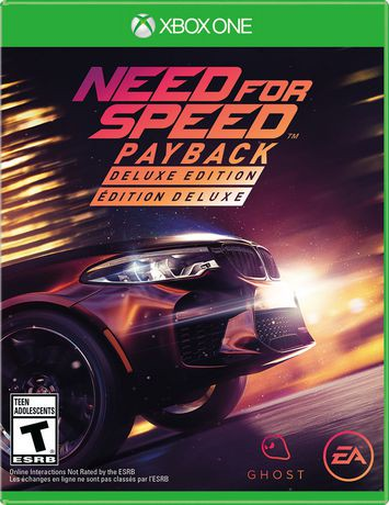 need for speed payback deluxe edition xbox one. Black Bedroom Furniture Sets. Home Design Ideas
