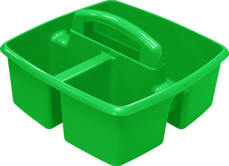 Storex Small Caddy /Green (6 units/pack) - image 4 of 5