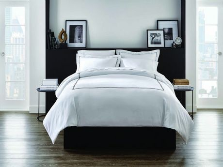 ens housse de couette hometrends de la collection de h tel walmart canada. Black Bedroom Furniture Sets. Home Design Ideas