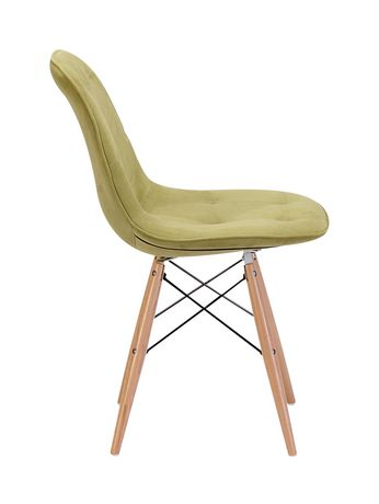 Zuo Modern One Piece Probability Green Dining Chair - image 2 of 4