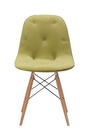 Zuo Modern One Piece Probability Green Dining Chair - image 3 of 4
