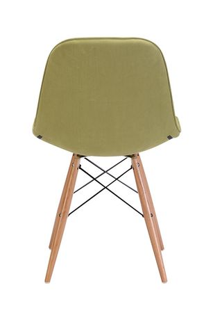 Zuo Modern One Piece Probability Green Dining Chair - image 4 of 4