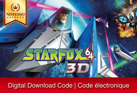 3DS Nintendo Selects: Star Fox 64 3D [Download]