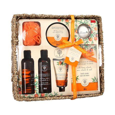 Orange Blossom Bath Set in Basket - image 1 of 3