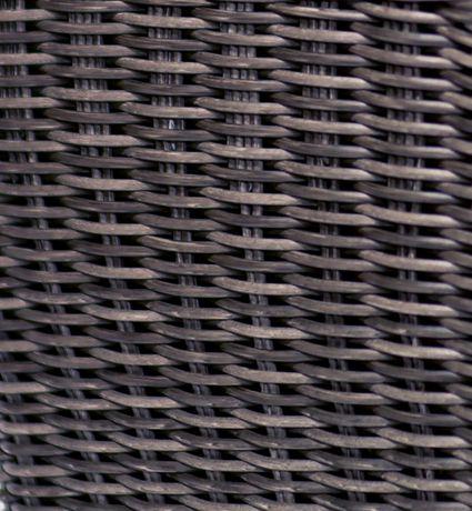 Grapevine Premier Square Resin Wicker Neutral Grey  Planters - image 2 of 5