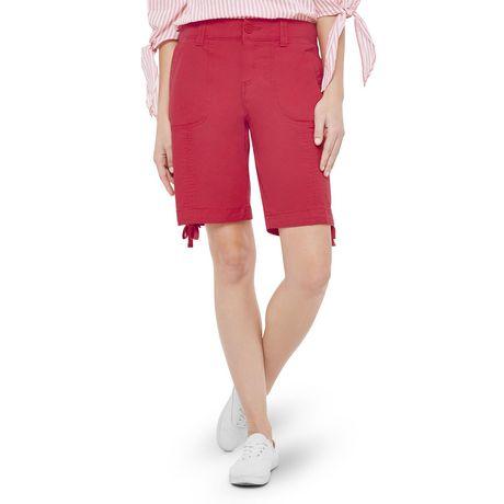 George Women's Rib Waist Bermuda Shorts - image 1 of 6