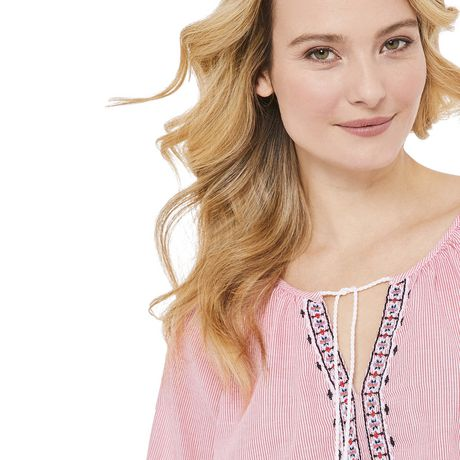 George Women's Peasant Blouse - image 4 of 6