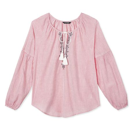 George Women's Peasant Blouse - image 6 of 6