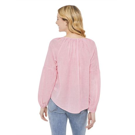 George Women's Peasant Blouse - image 3 of 6