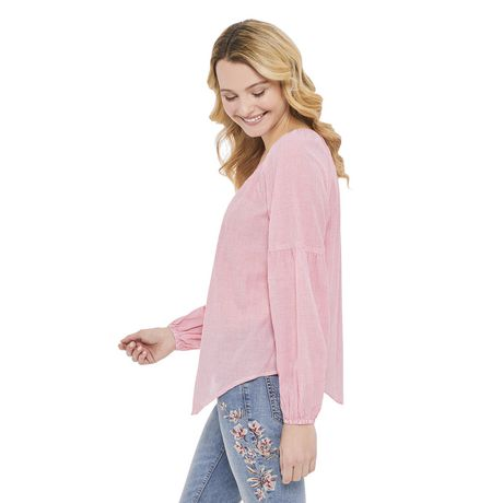 George Women's Peasant Blouse - image 2 of 6