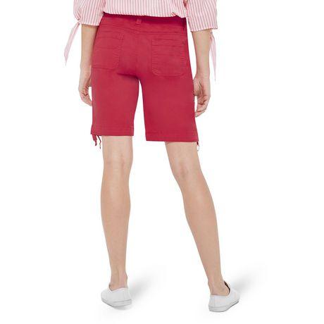 George Women's Rib Waist Bermuda Shorts - image 3 of 6