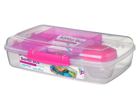 Sistema To Go Bento Lunch Box Food Storage Container - image 4 of 6