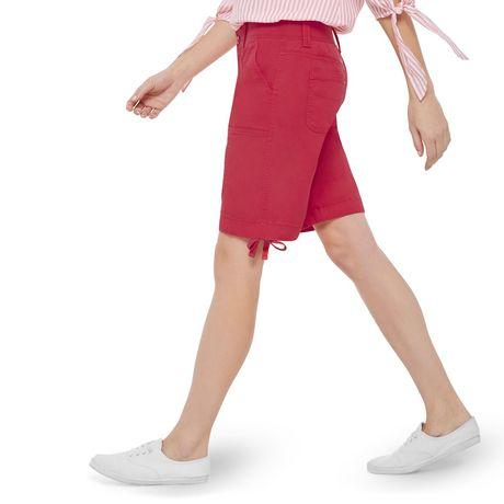 George Women's Rib Waist Bermuda Shorts - image 2 of 6