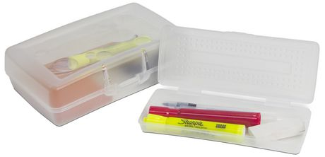 Storex Pencil Case /Clear (12 units/pack) - image 2 of 3