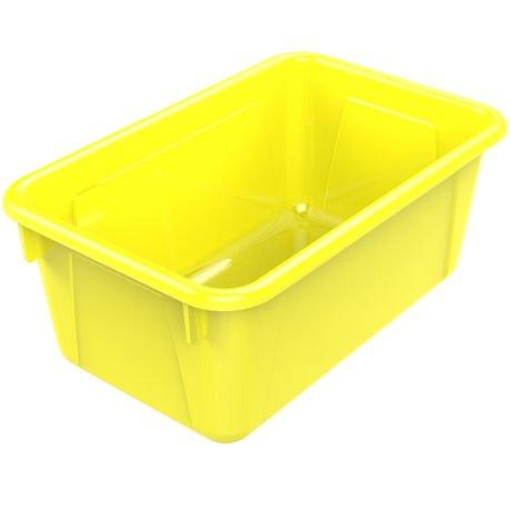 storex petite bo te de rangement jaune 5 unit s paquet walmart canada. Black Bedroom Furniture Sets. Home Design Ideas