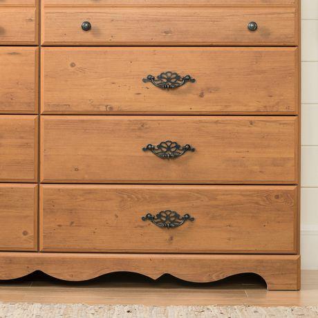 South Shore Prairie Bureau double 8 tiroirs - image 7 de 9