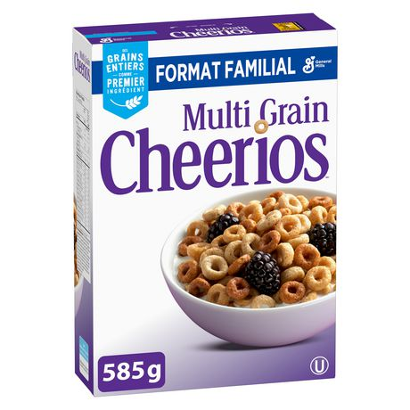 Cheerios™ Multi-Grain Cereal Family Size - image 2 of 9