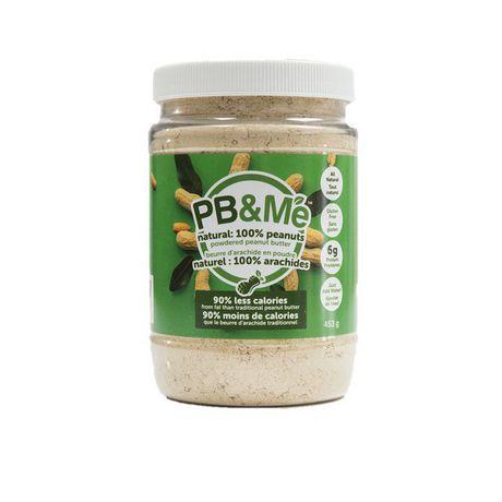 Beurre d'arachide en poudre naturelle de PB&Me - image 1 de 2