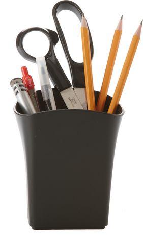 Storex pot à crayons en plastique recyclé, lot de 6 - image 2 de 2