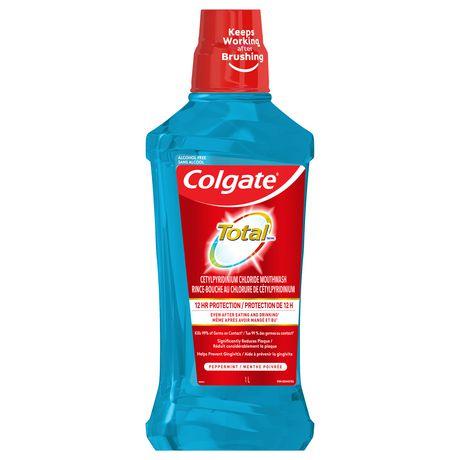 Rince-bouche explosion de menthe poivrée Total de Colgate - image 2 de 3