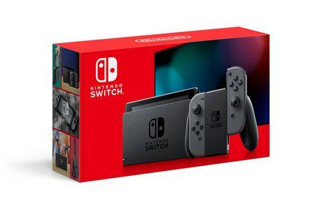 Nintendo Switch with Gray Joy‑Con (Nintendo Switch)