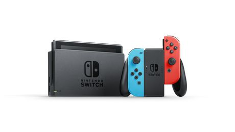 Nintendo Switch with Neon Blue and Neon Red Joy‑Con (Nintendo Switch) - image 2 of 7