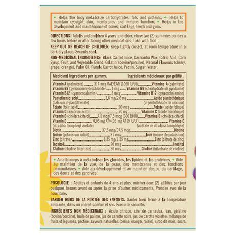 Sundown Naturals KIDS Multivitamines Gélifiés Sans-OGM - image 2 de 2